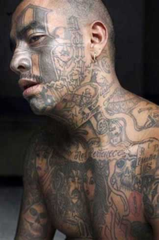mexican gangster tattoos