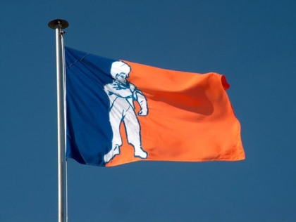 The official flag of Orania