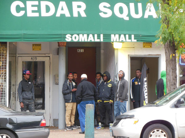 Blacks and Somali Mall