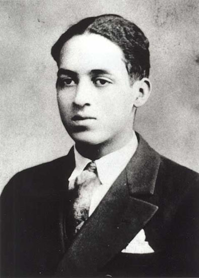 A young Thurgood.