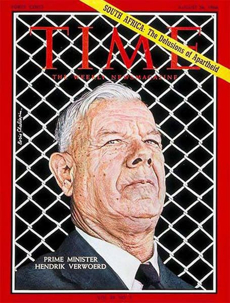 How liberals saw Verwoerd.