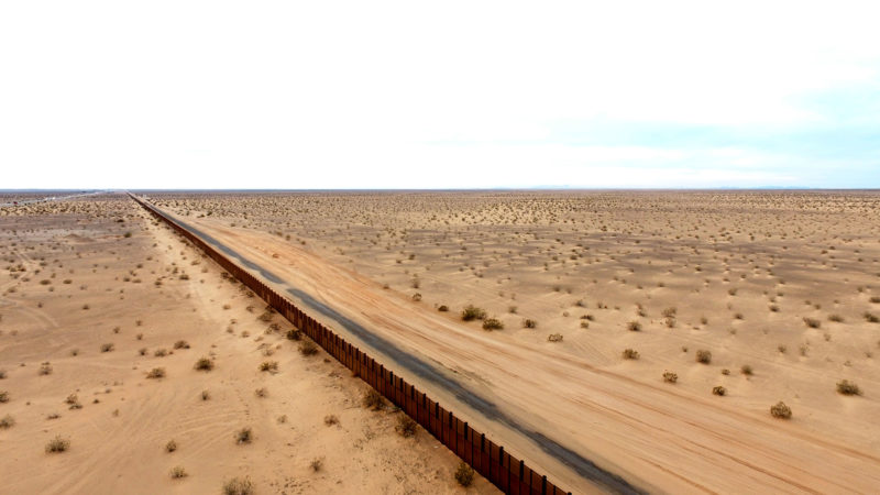 Border Wall with Sonora