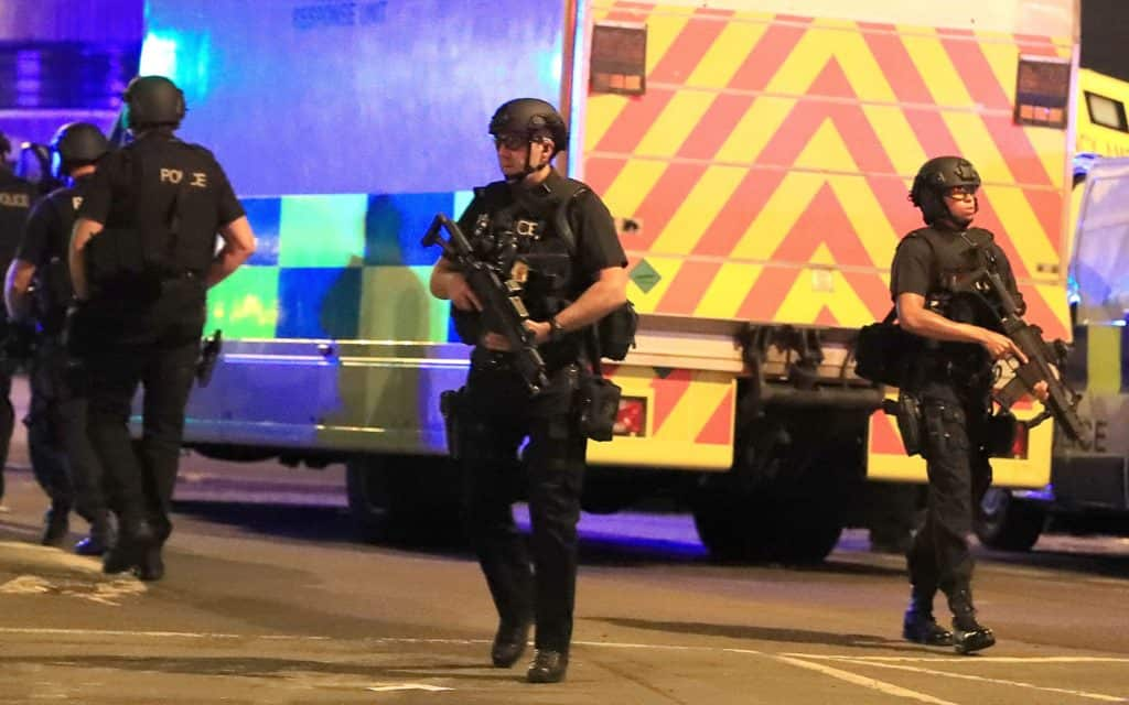 Cops on the Scene After Manchester Attack