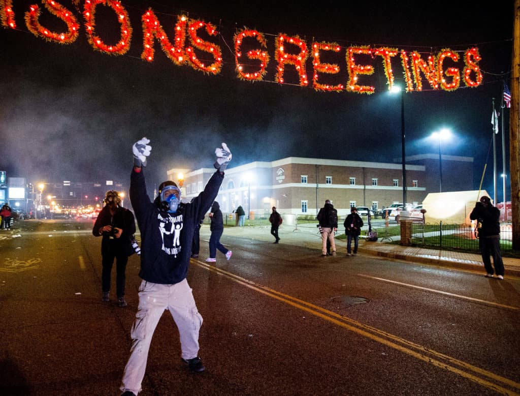 Ferguson Violence After No Indictment For Killing