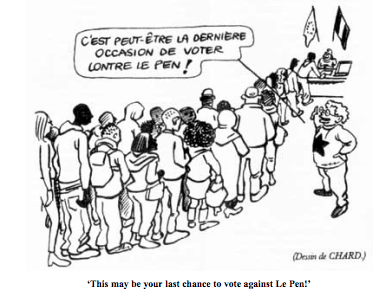 2007 French political cartoon
