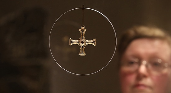 The Treasures of St Cuthbert exhibition