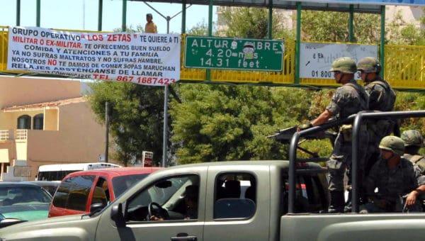 Los Zetas Propaganda for the Military