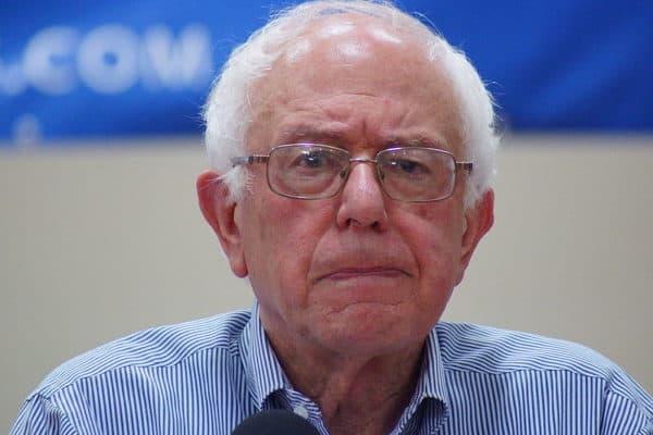 Sad Bernie Sanders