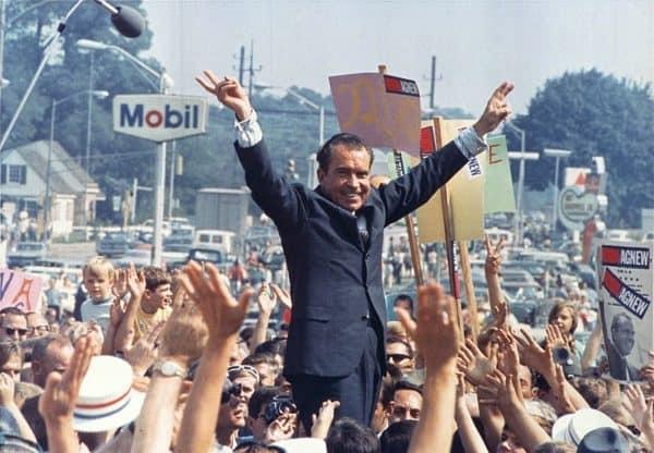 Classic Richard Nixon Photo