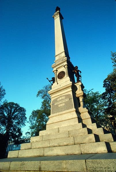 Memorial to the Confederate dead in Raleigh, NC