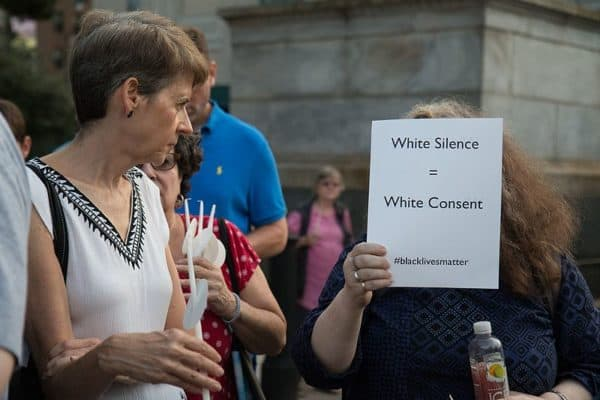 White Silence is White Consent