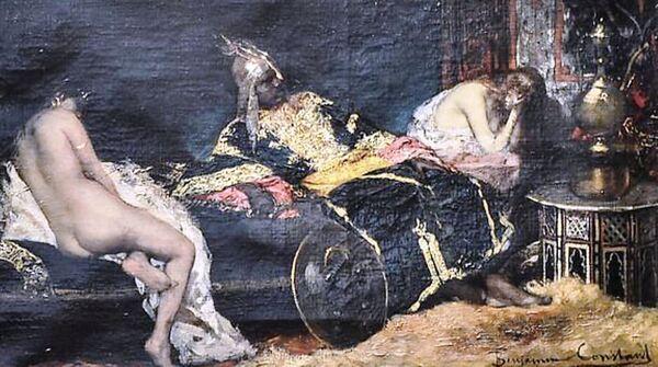The Serbian Concubine, by Jean-Joseph Benjamin-Constant, 1876.