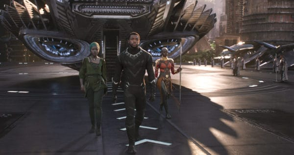 TITLE: Black Panther PLOT: T'Challa, after the death of his father, the King of Wakanda, returns home to the isolated, technologically advanced African nation to succeed to the throne and take his rightful place as king.  (Credit Image: © Marvel Studios / Entertainment Pictures / ZUMAPRESS.com)
