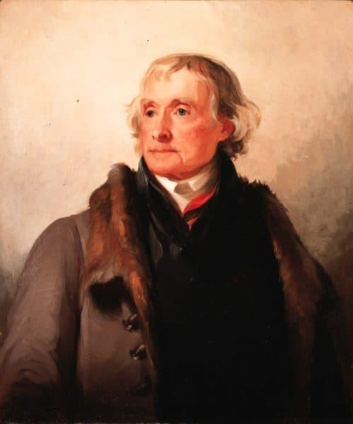 Thomas Jefferson (Portrait by Thomas Sully)