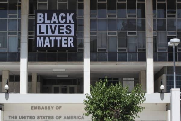 Black Lives Matter American Embassy