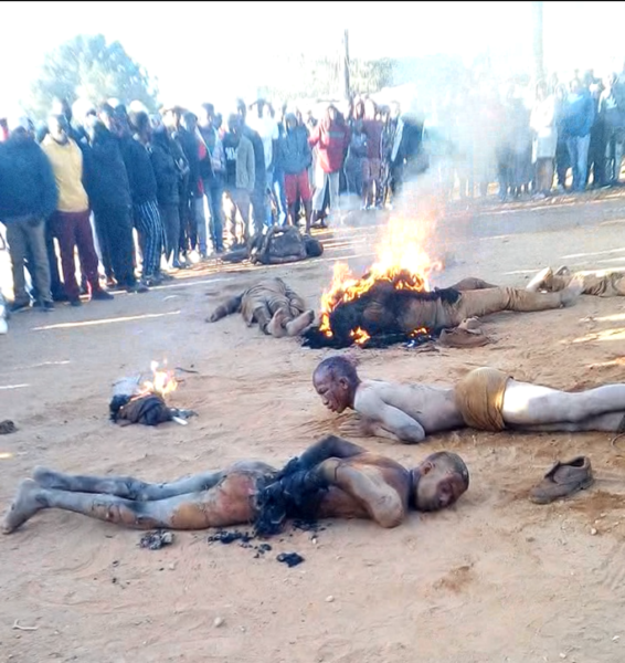 necklacing in South Africa