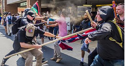 Alt-right Rally in Charlottesville, Virginia